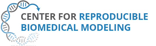 Center for Reproducible Biomedical Modeling